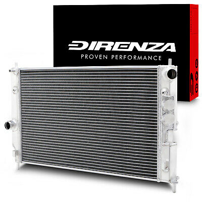 DIRENZA 40mm ALLOY SPORT RADIATOR RAD FOR VAUXHALL OPEL VECTRA B 1.8 2.0 2.5 V6