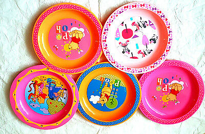 Disney Baby Assorted Character Microwave Dishwasher Safe Plate  6 Mths+ New