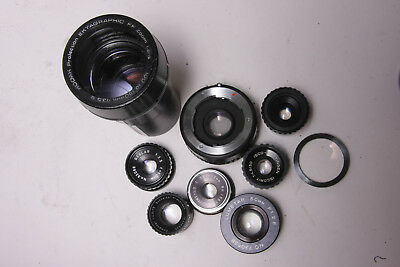 Assorted BAD Lenses for you to make things with - PARTS BAD GLASS E09C