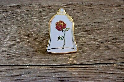 Disney Trading Pin DLP - Beauty and the Beast Booster Rose Pin Only