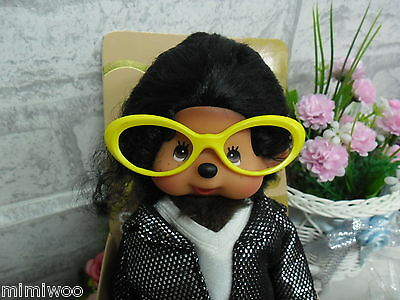 Mimi Collection Monchhichi Plastic Glasses Frame YELLOW for S & M Size MCC