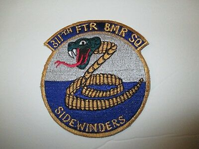 e0194 Korean War US Air Force 311th Fighter Bomber Squadron Sidewinders IR21A