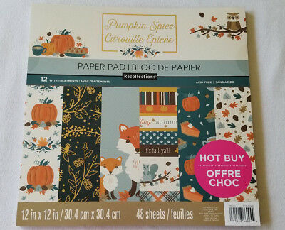 Recollections Scrapbook Paper Pad On The Bright Side 48 Sheets 12