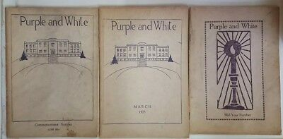 Phoenixville High School - Purple and White Magazine 1924/1925/1929/unknown