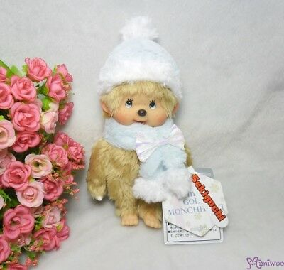 Sekiguchi Monchhichi 40th Anniversary Plush 20cm S MCC Winter Gold Hair Boy