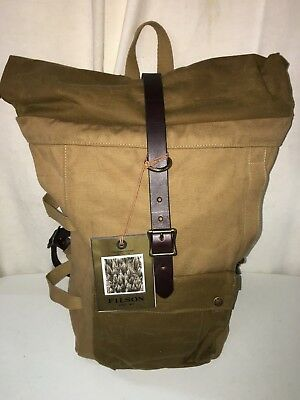 New Filson Made In Usa Roll Top Backpack $475