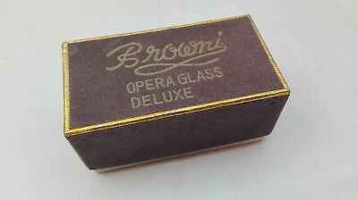 Altes Opernglas mit Perlmutt Browni Opera Glass Deluxe 3x top gepflegt