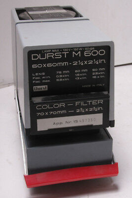 Durst M600 Enlarger Lamphouse Light Source Head Reprovision Mirror Box USED F03
