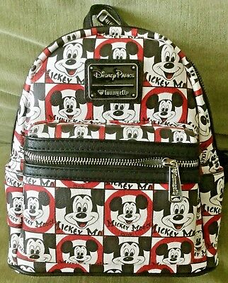 DISNEY Parks Loungefly MICKEY MOUSE CLUB Mini Backpack Bag Purse - NWT