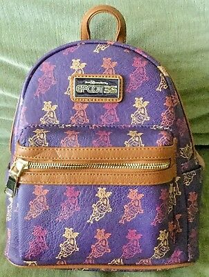 DISNEY Parks Loungefly EPCOT 35 Anniversary FIGMENT Backpack Bag Purse - NWT