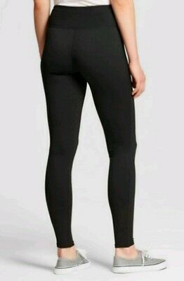 66e3eb01c8599 Mossimo Supply Ultimate Black Yoga Leggings Juniors Size M 29W Ebony Active  Wear