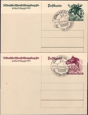 GERMANY, 1939. Post Card P280-81 (2), Used