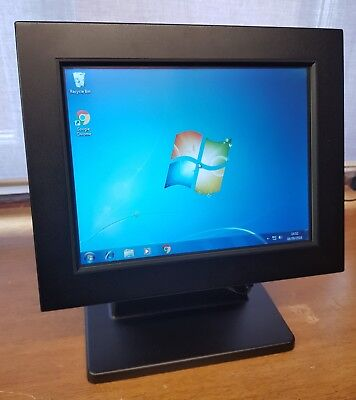 """AURES TEOSTOUCH Mini POS Terminal 10"""" Touch Screen Panel PC / 64Gb SSD POSReady7"""