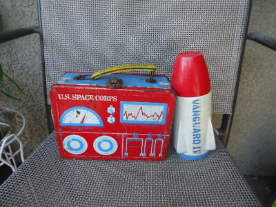Vintage U.S.Space Corps style Metal Lunch Box