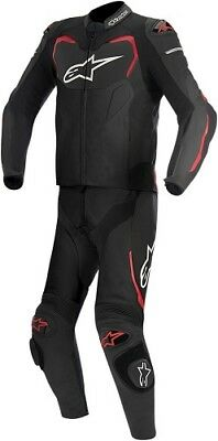 Alpinestars GP Pro 2 PC Leather Racing Suit Black/Red Mens All Sizes