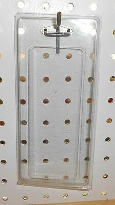"""100 clear retail hang sell display storage packages -2 1/4"""" x 5 3/4"""""""