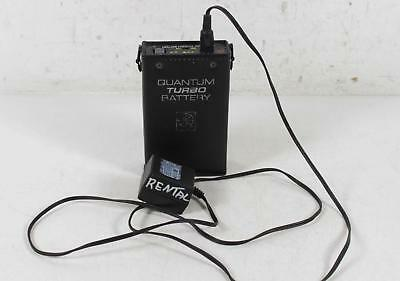 Quantum Turbo Portable Rechargeable Battery Pack for Flash w/ charger