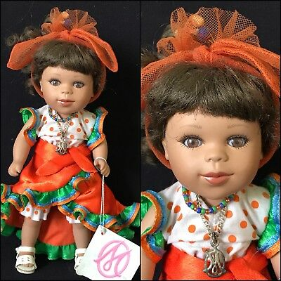 "8"" Marie Osmond Dolls Around The World ""Brazil"""