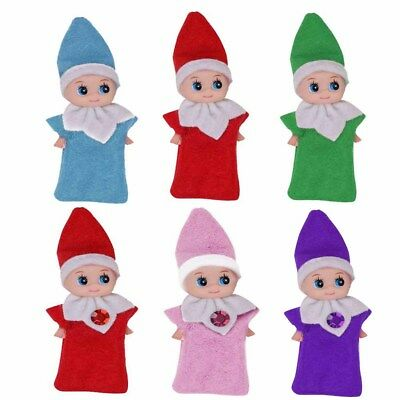 Elf Baby Plush Xmas Christmas the Shelf Decor Dolls Elves Boys/Girls Kids Gift