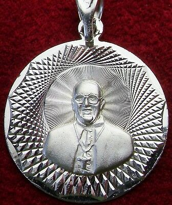 New Sterling Pope Francis and O.L. of Guadalupe Shrine Pilgrimage Medal