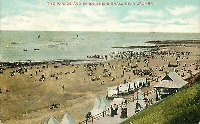 ANGLETERRE THE PARADE AND SANDS SHERINGHAM NEAR CROMER top 55224