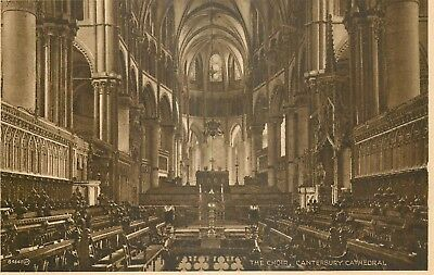CP angleterre canterbury cathedral INTERIEUR