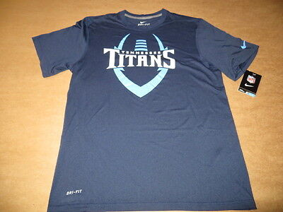 Tennessee Titans Football ICON Men s Nike Dri Fit T-Shirt Navy Blue by Nike  New 954db3f43a8