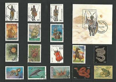 y6021 Tanzania / A Small Collection Early & Modern Used