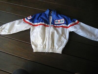 Mobil Holden Commodore HDT rain jacket  small..very rare