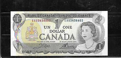 Canada #85C 1973 Dollar Vf Circ Old Banknote Paper Money Currency Bill Note