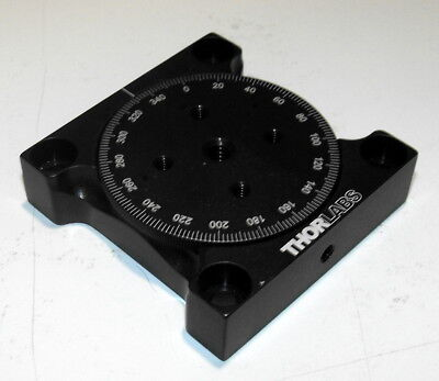 Nice ThorLabs Small Manual Precision Rotation Stage in Great Condition