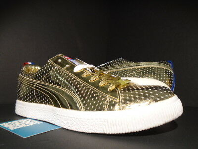 PUMA CLYDE x UNDFTD GAMETIME PROMO UNDEFEATED GOLD RED WHITE BLUE 354273-01  9.5 c945a2bd7