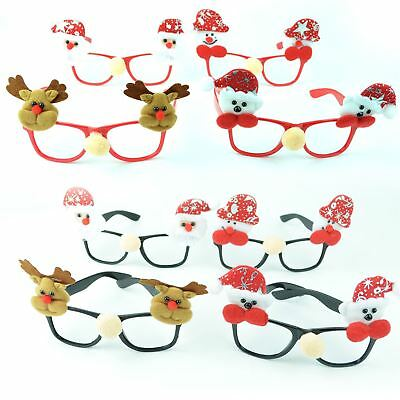 Christmas Glasses Specs Novelty Xmas Sunglasses Fancy Dress Party Accessories