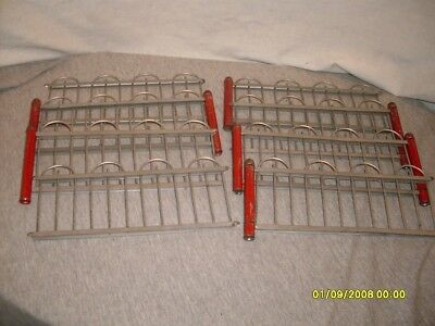 Vintage. Metal/Tin Fencing. For Your Village/Train Display.