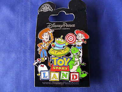 Disney* TOY STORY LAND - WOODY JESSE ALIEN PENGUIN REX * New on Card Trading Pin