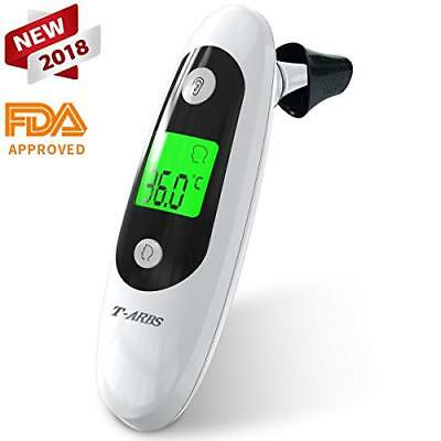 Clinical Baby Forehead and Ear Thermometer, tarbs Multi-Mode Infrared Digital