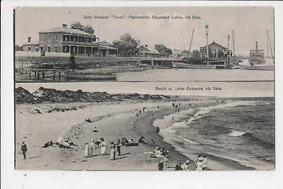 "Advertisment- Sale, Steamer ""Omeo"" Paynesville & Beach at Lakes Entrance 1910-11"