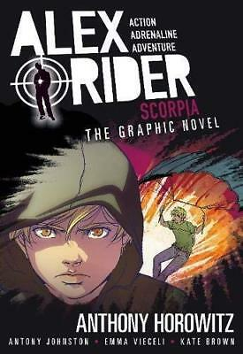 Scorpia Graphic Novel Anthony Horowitz Antony Johnston Walker Books Ltd Broche