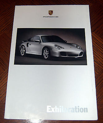 2000 PORSCHE 911 Brochure/Poster Covers all 911 models & Boxster FREE SHIPPING