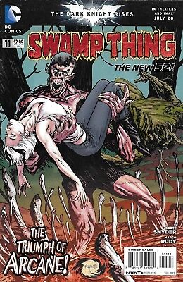 Swamp Thing Comic Issue 11 The New 52 Modern Age First Print 2012 Scott Snyder