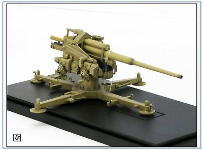 AS72076 128mm Flak 40 mit Kreuzlafette 1944,Fertigmodell, Modelcollect 1:72,NEU&