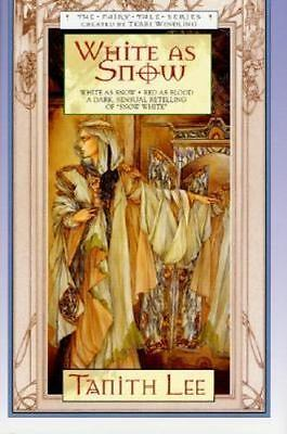 White as Snow (Fairy Tale Series), Lee, Tanith, Good Condition, Book