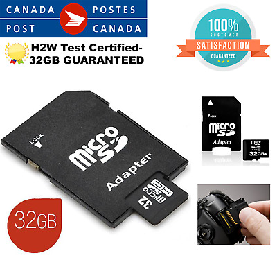Micro SD Card 32GB Universal High Speed SDXC SDHC Flash TF Class 10 32GB