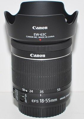 Canon EF-S 18-55 mm F/3,5-5.6 IS STM, Top Zustand