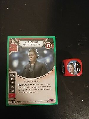 Star Wars Destiny: Leia Organa Heart of the Resistance - Way of the Force #73