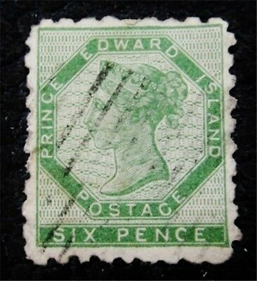 nystamps Canada Prince Edward Island Stamp # 3 Used UN$1500 VF