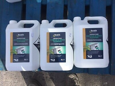 Brick And Mortar Cleaner 15 Litres BULK BUY £19.99 Free Delivery