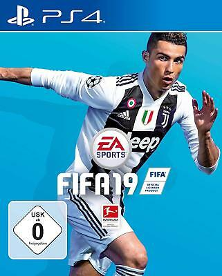 NEU&OVP FIFA 19 2019 Playstation 4 PS4 EA GAMES Fußball PES DEUTSCH Spiel Game
