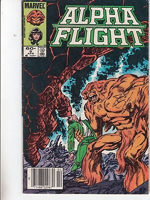Alpha Flight  #9 1984 ''things Aren't What Always Seem To Be'' Byrne/ Lee...vg