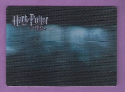 Harry Potter Goblet of Fire Update Case Topper Card - Flying Carriage